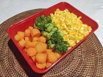 健康食物早餐 免版税图库摄影