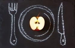 健康食物概念。 免版税库存照片