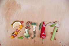 2017健康食物概念 库存图片