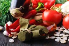 健康食物背景,时髦饮食产品,菜,谷物,坚果 油 库存图片