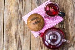 健康食物鲜美拉伊小圆面包 免版税图库摄影