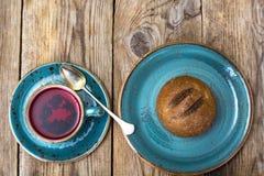 健康食物鲜美拉伊小圆面包 免版税库存照片