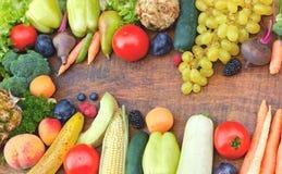 健康食物-有机食品 免版税库存照片