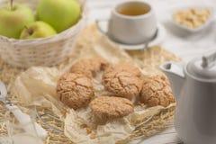 健康食物&饮料自然饮食食物家庭烹饪:健康hom 免版税库存照片