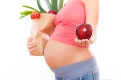 健康饮食的副食品 免版税库存照片