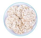 健康饮食的食物 全麦饼干 免版税图库摄影