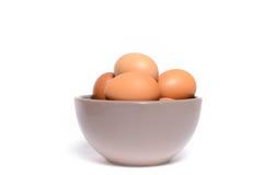 健康鸡蛋 免版税库存照片