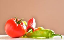 健康,新鲜和成熟菜 库存照片