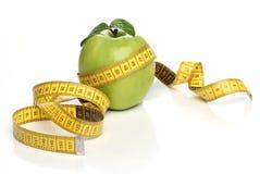 健康绿色苹果 免版税库存照片