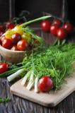 健康素食主义者食物的概念 库存照片