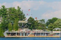 健美的城堡手段亚历山大海湾,美国 免版税库存图片