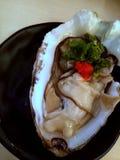 健脑食品-新鲜的牡蛎 图库摄影