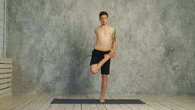 健身、瑜伽和健康生活方式概念 股票视频