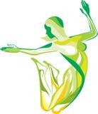 健身体育运动瑜伽 库存图片