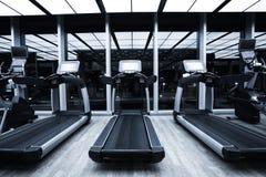健身俱乐部内部 库存照片