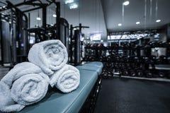健身俱乐部内部 库存图片