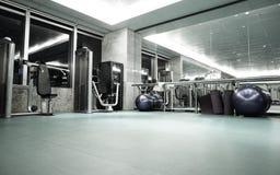 健身俱乐部在豪华旅馆里 免版税图库摄影