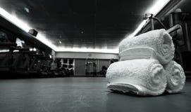 健身俱乐部在豪华旅馆里 库存图片