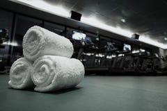 健身俱乐部在豪华旅馆里 库存照片