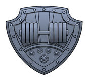 健身俱乐部标志 免版税库存图片
