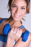 健身健康妇女 免版税图库摄影