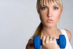 健身健康妇女 免版税库存图片
