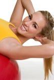 健身健康妇女 图库摄影