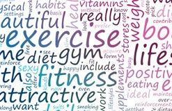 健身健康 库存例证
