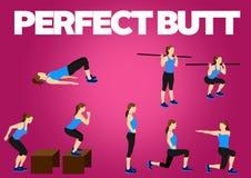 健身刺激锻炼 皇族释放例证