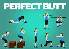 健身刺激锻炼 向量例证