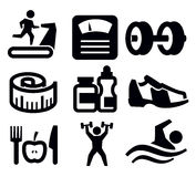 健身和体育运动 库存照片