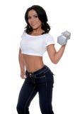 健身培训人 库存照片