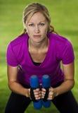 健身培训妇女 免版税库存照片