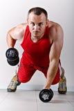健身培训 免版税库存图片