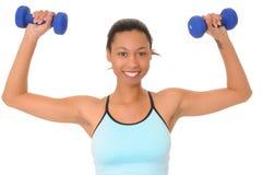 健身女孩健康 免版税图库摄影