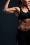 健身妇女的图象 库存照片
