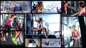 健身妇女活动 影视素材