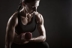 健身妇女 库存图片
