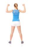 健身妇女 免版税库存照片