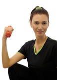 健身妇女 免版税库存图片