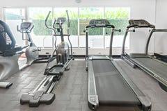 健身室在公寓 免版税图库摄影