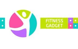 健身小配件 传染媒介网站广告的设计元素 库存图片