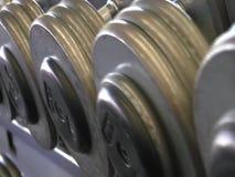 健身房哑铃&设备英尺长度 股票录像