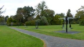 健身房在公园 库存图片