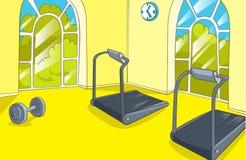 健身房室 免版税库存照片