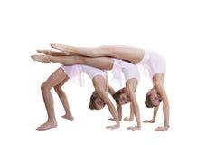 健身房或舞蹈课 库存照片