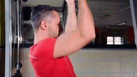 健身房时间 影视素材