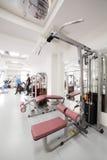 健身房用特别设备,空 免版税库存照片
