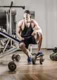 健身房训练锻炼 库存照片