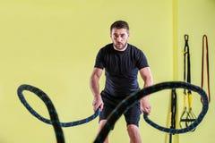 健身房训练 免版税库存照片